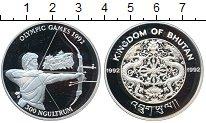 Изображение Монеты Бутан 300 нгултрум 1992 Серебро Proof- Олимпийские игры 199