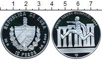 Изображение Монеты Куба 10 песо 2002 Серебро Proof- Олимпиада 2004