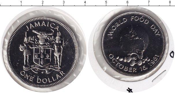 Картинка Монеты Ямайка 1 доллар Медно-никель 1981