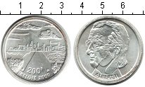 Изображение Монеты Бельгия 200 франков 2000 Серебро XF