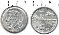 Изображение Монеты Бельгия 200 франков 2000 Серебро XF Альберт II.