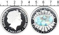 Изображение Монеты Австралия 5 долларов 2003 Серебро Proof Австралийские волонт