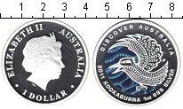 Изображение Монеты Австралия 1 доллар 2011 Серебро Proof Кукабара