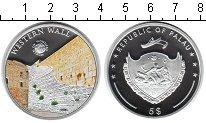 Изображение Монеты Палау 5 долларов 2012 Серебро Proof Западная стена