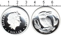 Изображение Монеты Австралия 1 доллар 2012 Серебро Proof Кукабара. Питфорт