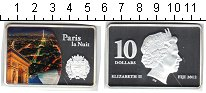 Изображение Монеты Фиджи 10 долларов 2012 Серебро Proof