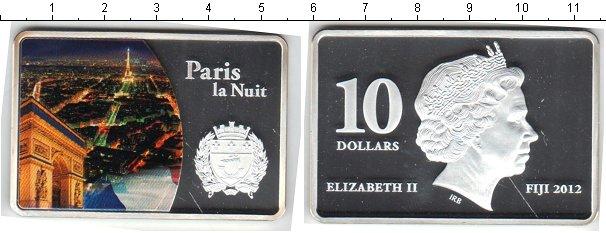 Картинка Монеты Фиджи 10 долларов Серебро 2012
