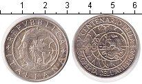 Изображение Монеты Италия 500 лир 1990 Серебро XF