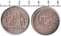 Изображение Монеты Италия 500 лир 1992 Серебро XF 500 лет открытия Аме