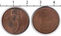 Изображение Монеты Сомали 1 сентесимо 1950 Медь UNC-