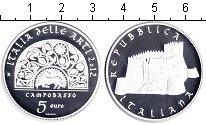 Изображение Монеты Италия 5 евро 2012 Серебро Proof-