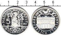 Изображение Монеты Италия 5 евро 2004 Серебро Proof- Мадам Ботерфляй