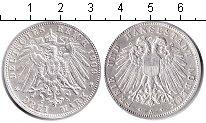 Изображение Монеты Германия Любек 3 марки 1909 Серебро XF