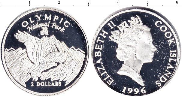 Картинка Монеты Острова Кука 2 доллара Серебро 1996