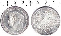 Изображение Монеты Анхальт 5 марок 1914 Серебро UNC- Серебряная свадьба.