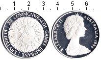 Изображение Монеты Австралия 10 долларов 1982 Серебро Proof Игры содружества в Б