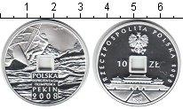 Изображение Монеты Польша 10 злотых 2008 Серебро Proof Игры XXIX Олимпиады