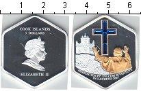 Изображение Монеты Острова Кука 5 долларов 2007 Серебро Proof-