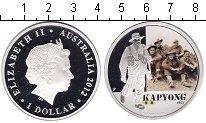 Изображение Монеты Австралия 1 доллар 2012 Серебро Proof Капйонг.