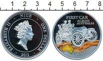 Изображение Монеты Ниуэ 1 доллар 2012 Серебро Proof- Первый автопробег по