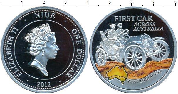 Картинка Монеты Ниуэ 1 доллар Серебро 2012