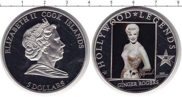 Картинка Монеты Острова Кука 5 долларов Серебро 2010