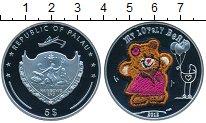 Изображение Монеты Палау 5 долларов 2012 Серебро Proof- медвежонок