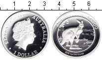 Изображение Монеты Австралия 1 доллар 2013 Серебро Proof- Кенгуру