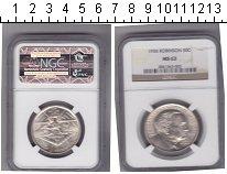 Изображение Монеты США 1/2 доллара 1936 Серебро  /