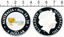 Изображение Монеты Австралия 1 доллар 2011 Серебро Proof- Кубок