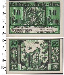 Изображение Банкноты Веймарская республика 10 пфеннигов 1921  XF Нотгельд.