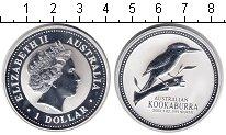 Изображение Монеты Австралия 1 доллар 2003 Серебро Proof- Елизавета II. Коокаб