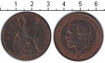 Изображение Монеты Великобритания 1 пенни 1935 Медь XF Георг V