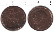 Изображение Монеты Великобритания 1 фартинг 1929 Медь VF