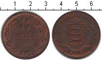 Изображение Монеты Гернси 8 дублей 1938 Медь XF
