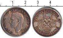 Изображение Монеты Великобритания 1 шиллинг 1939 Серебро XF Георг VI