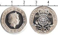 Изображение Монеты Великобритания 20 пенсов 2000 Медно-никель Proof