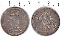 Изображение Монеты Великобритания 1 крона 1889 Серебро XF