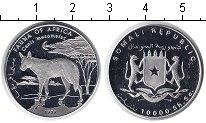 Изображение Монеты Сомали 10000 шиллингов 1998 Серебро