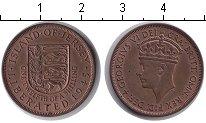 Изображение Монеты Остров Джерси 1/12 шиллинга 1945 Медь XF Георг VI.
