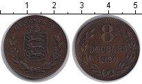 Изображение Монеты Гернси 8 дублей 1920 Медь XF