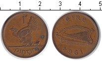 Изображение Монеты Ирландия 1 пенни 1964 Медь VF квочка