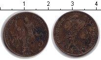 Изображение Монеты Франция 5 сантим 1916 Медь VF Республика защищает