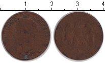 Изображение Монеты Франция 5 сантимов 1862 Медь