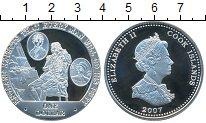 Изображение Монеты Острова Кука 1 доллар 2007 Серебро Proof- Елизавета II