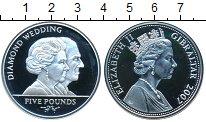 Изображение Монеты Гибралтар 5 фунтов 2007 Серебро Proof-