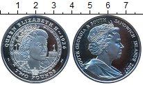 Изображение Монеты Сендвичевы острова 2 фунта 2007 Серебро Proof- Елизавета II.