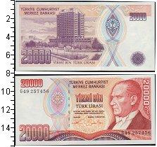 Изображение Банкноты Турция 20000 лир 0  UNC
