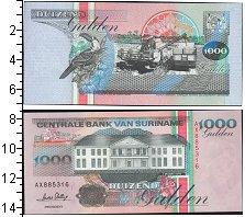Изображение Банкноты Суринам 1000 гульденов 0  UNC-