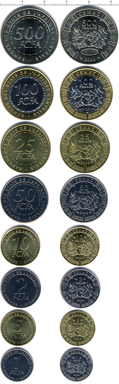 Картинка Наборы монет КФА КФА 2006  2006
